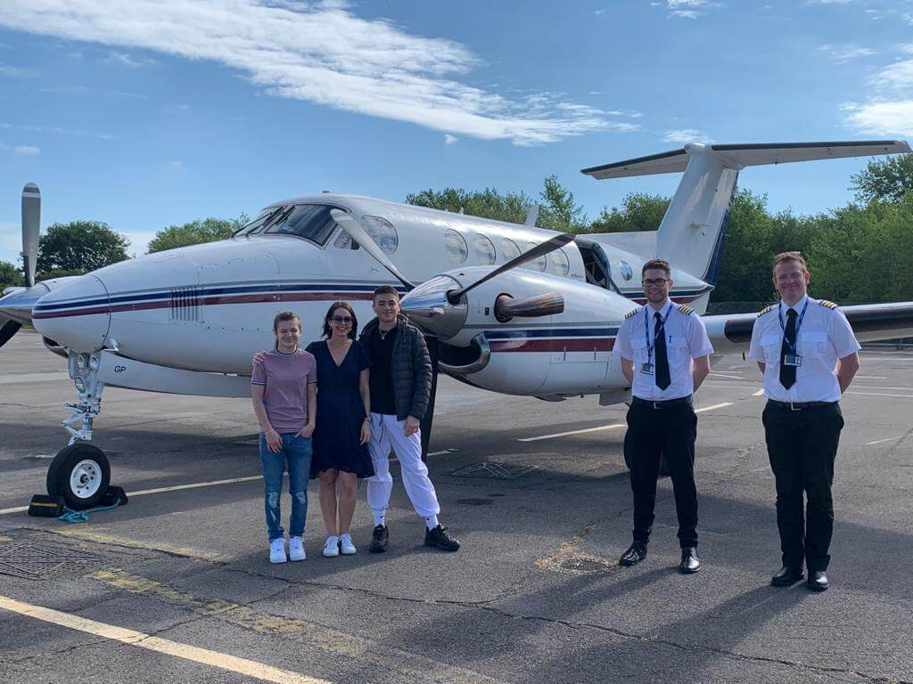 COVID safe air charter