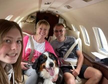 COVID safe private jet