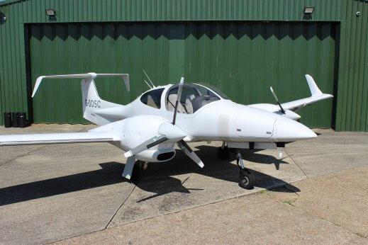 DA42 plane charters