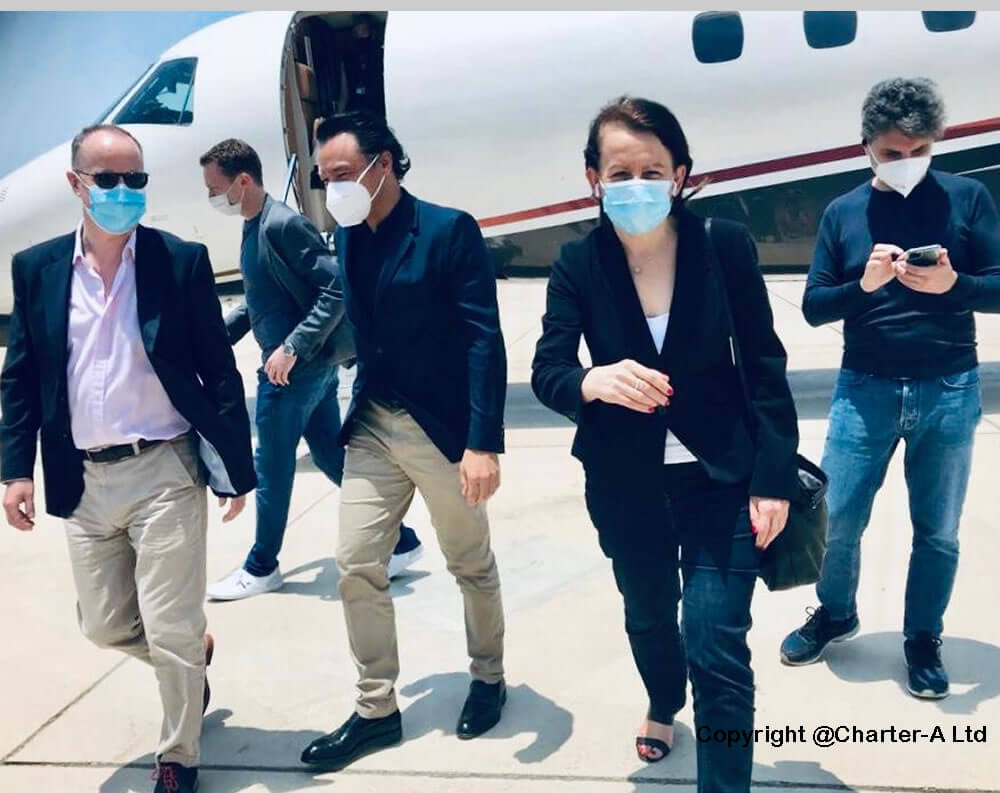 passengers arrive Abu Dhabi