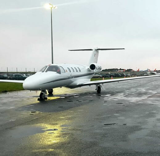 private jet Canary Islands