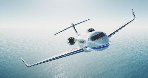 Charter private jet Ibiza