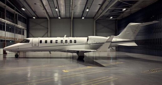 Lear Jet 45 XR private jet