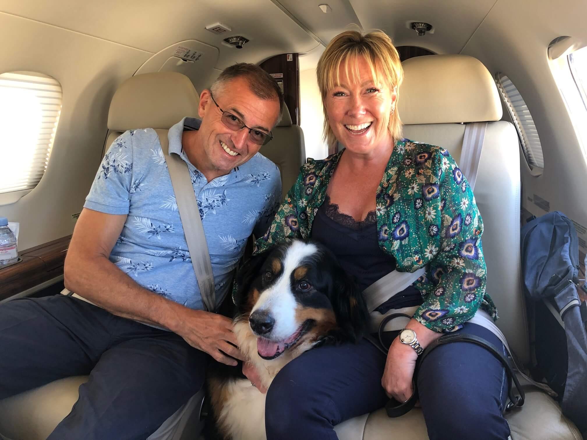 Pet flights Dublin