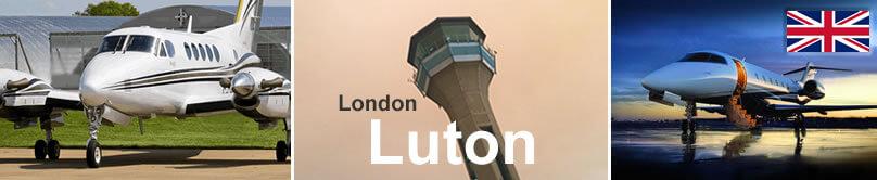 Private flight Luton