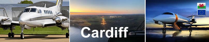 Private flights Cardiff