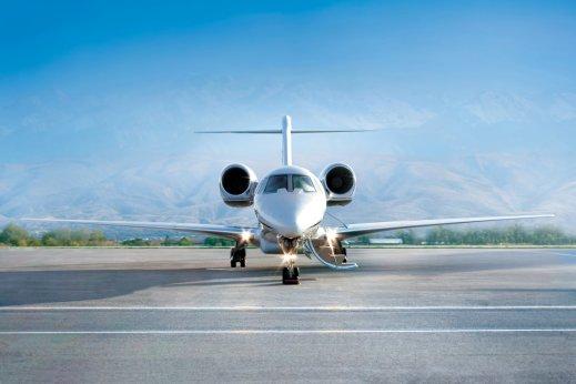 Private jet Greece