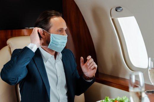 Vaccine passport private jet