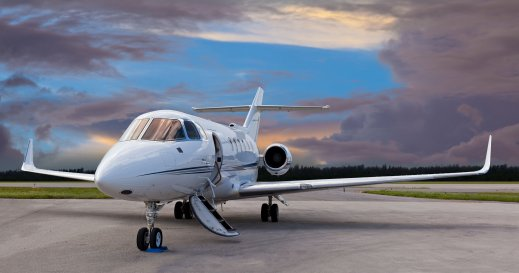 Private jet Dunsfold