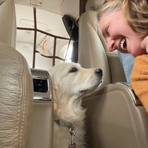 Private pet flights
