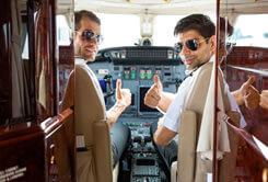 private jet crew