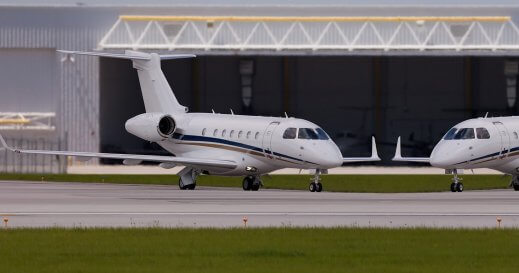 24 hour Private Jet